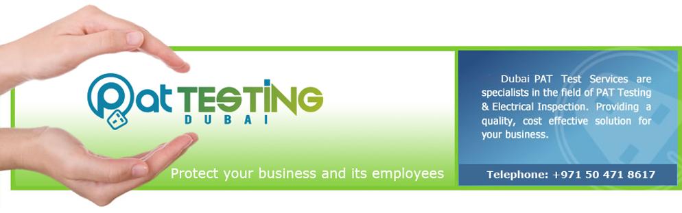 PAT Test Services Dubai : Portable appliance testing Dubai
